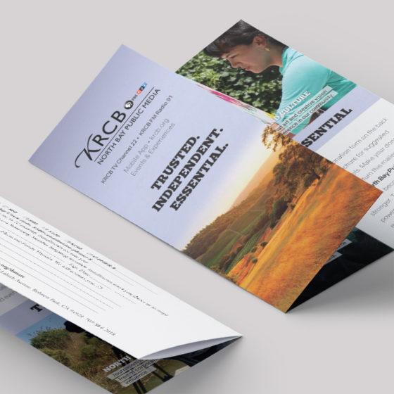Trifold membership brochure
