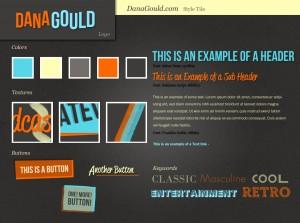 Web Design Style Tile